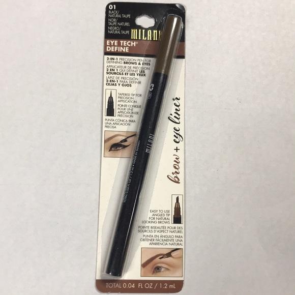 Milani Makeup 2in1 Precision Pen Brows Eyes Poshmark